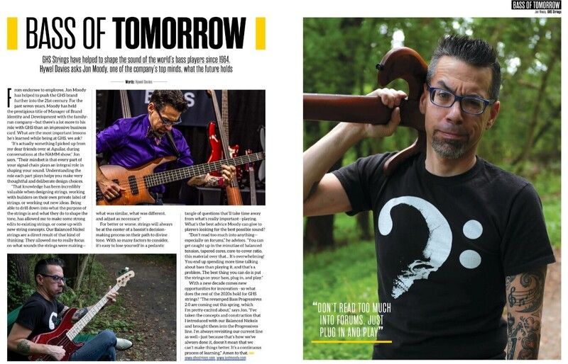 Buy Bass Player Magazine Subscription From Magazinesdirect