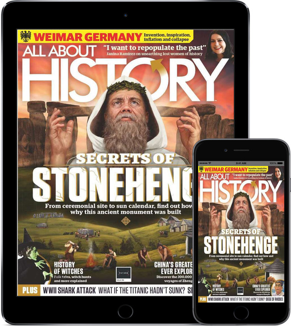 An image of All About History Digital Magazine Subscription