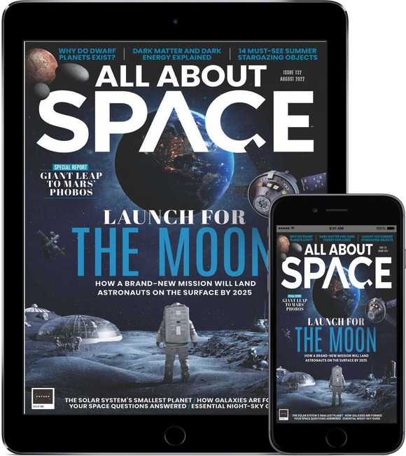 An image of All About Space Magazine - Print & Digital Subscription