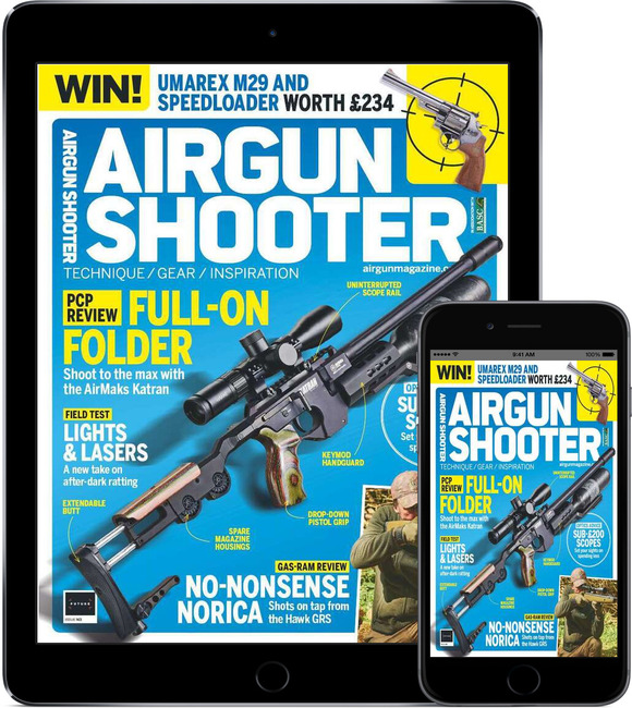 An image of Airgun Shooter Digital Magazine Subscription