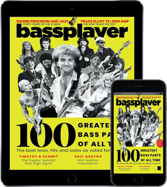 An image of Bass Player Digital Magazine Subscription