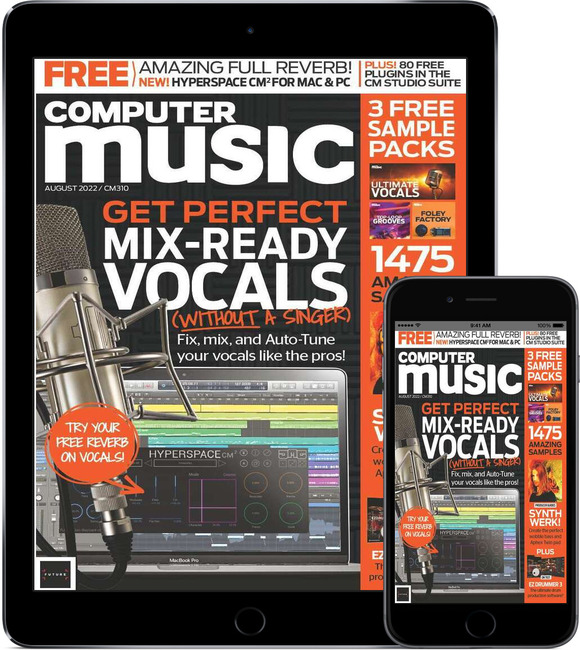 An image of Computer Music Digital Magazine Subscription