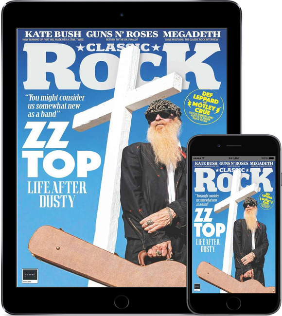 An image of Classic Rock Magazine Subscription - Digital