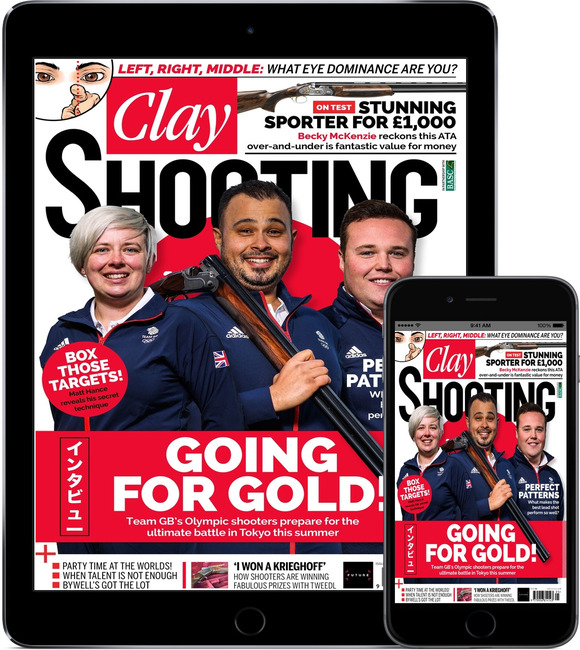 An image of Clay Shooting Digital Magazine Subscription