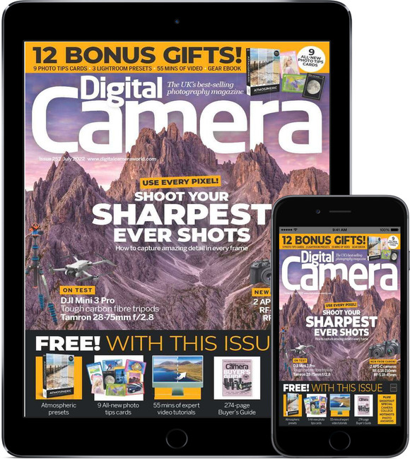 An image of Digital Camera Magazine Digital Subscription