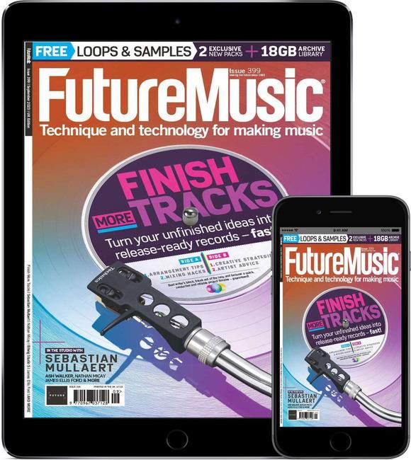 An image of Future Music Digital Magazine Subscription