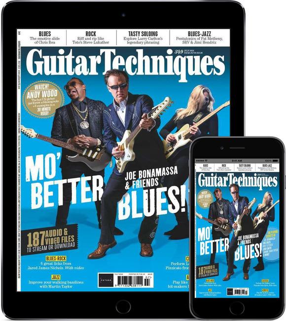 An image of Guitar Techniques Digital Magazine Subscription