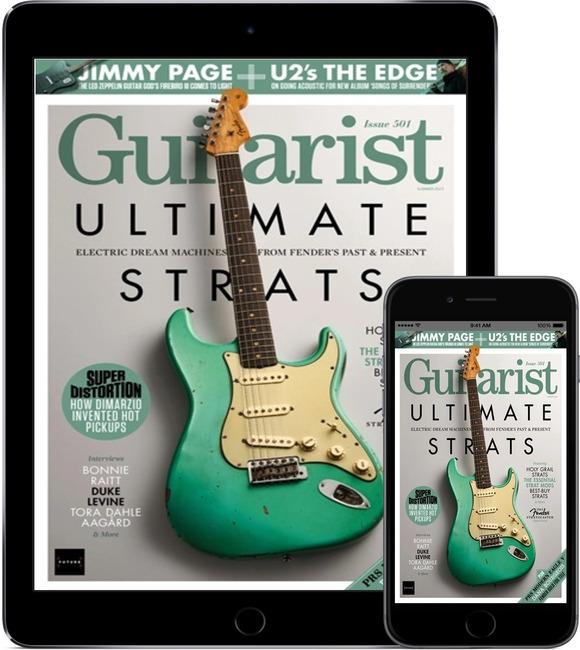 An image of Guitarist Digital Magazine Subscription