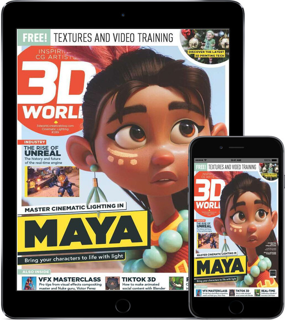 An image of 3D World Digital Magazine Subscription