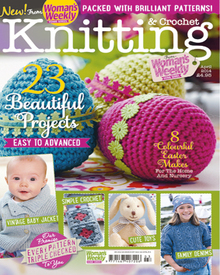 Knitting And Crochet From Womans Weekly magazine