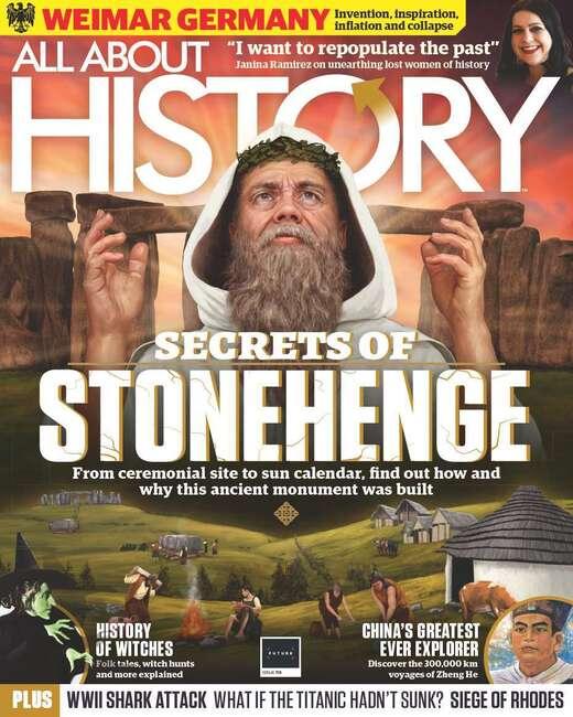 An image of All About History Magazine - Single Issue