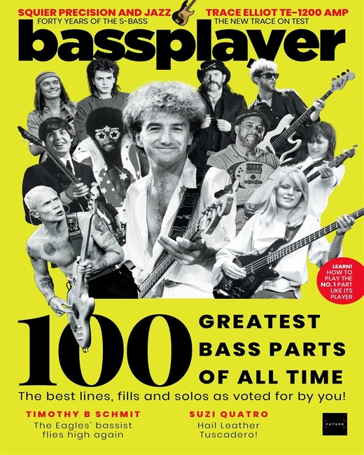 An image of Bass Player Magazine Subscription - Print Edition