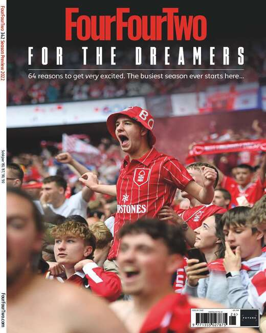 An image of FourFourTwo Print Magazine Subscription