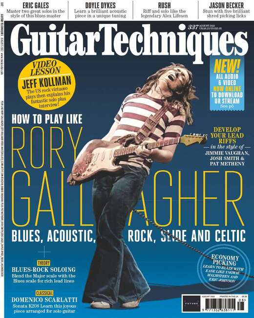 An image of Guitar Techniques Magazine Single Issue