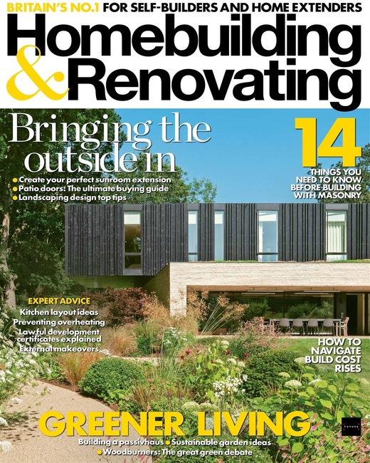 An image of Homebuilding & Renovating Magazine Single Issue
