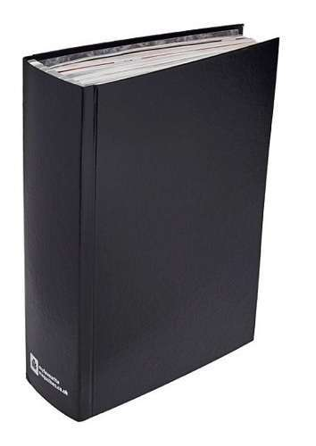 An image of Black Magazine Binder