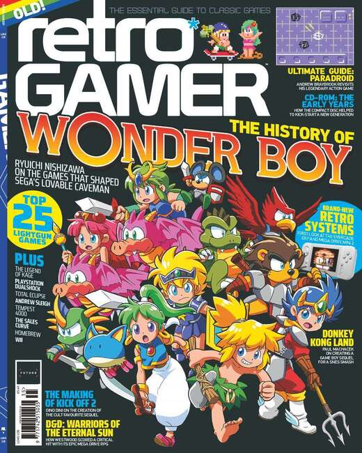 An image of Retro Gamer Magazine - Single Issues