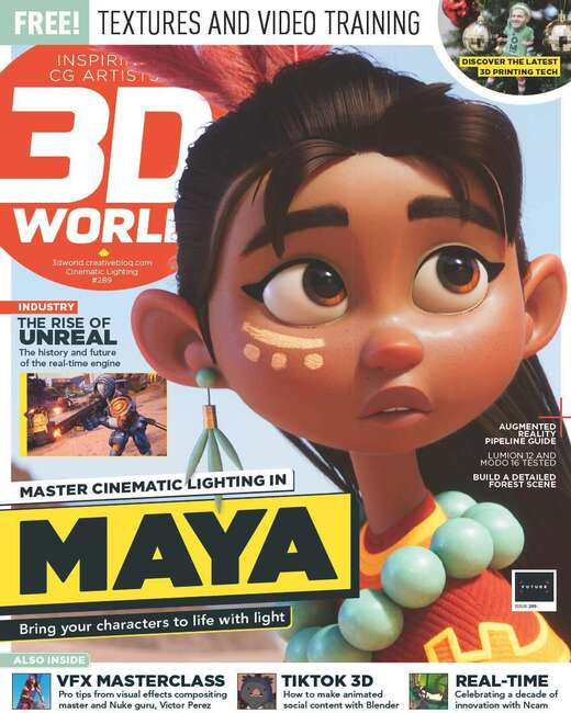 An image of 3D World Magazine Single Issue
